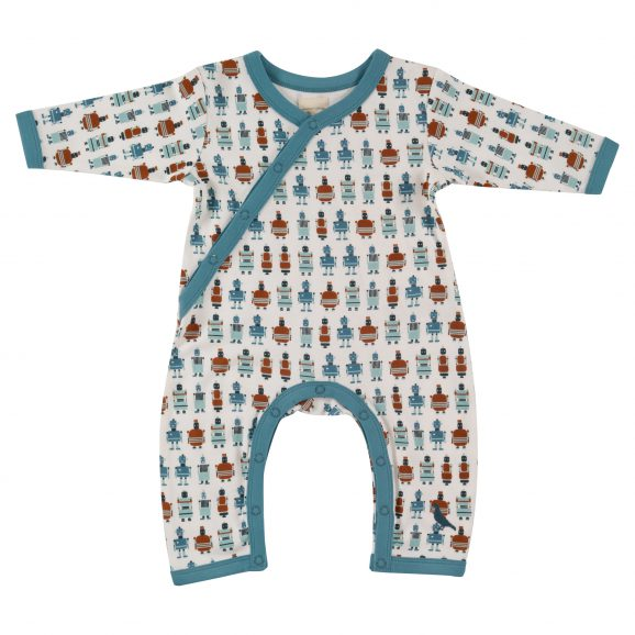f5b7486feca Piccalilly Forest Friends Hooded Playsuit - Eddie   Min