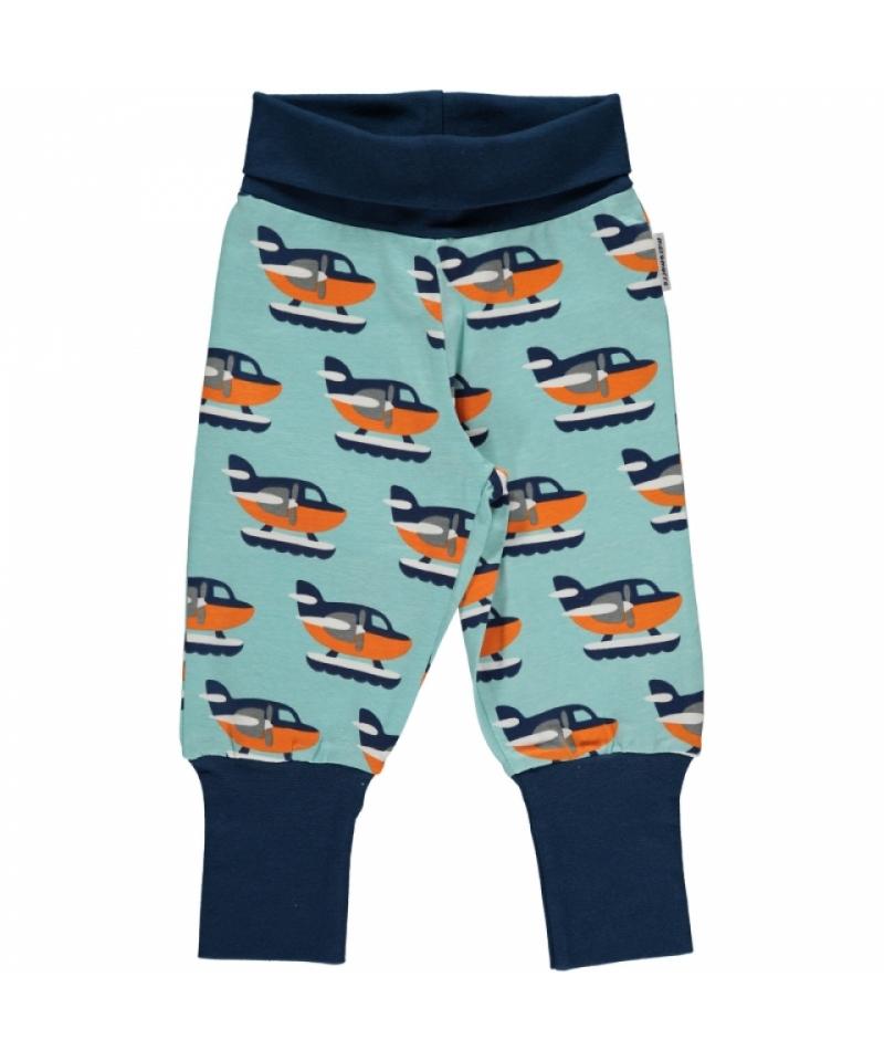 3a5690e832252b Maxomorra Sea Plane Rib Pants - Eddie & Min
