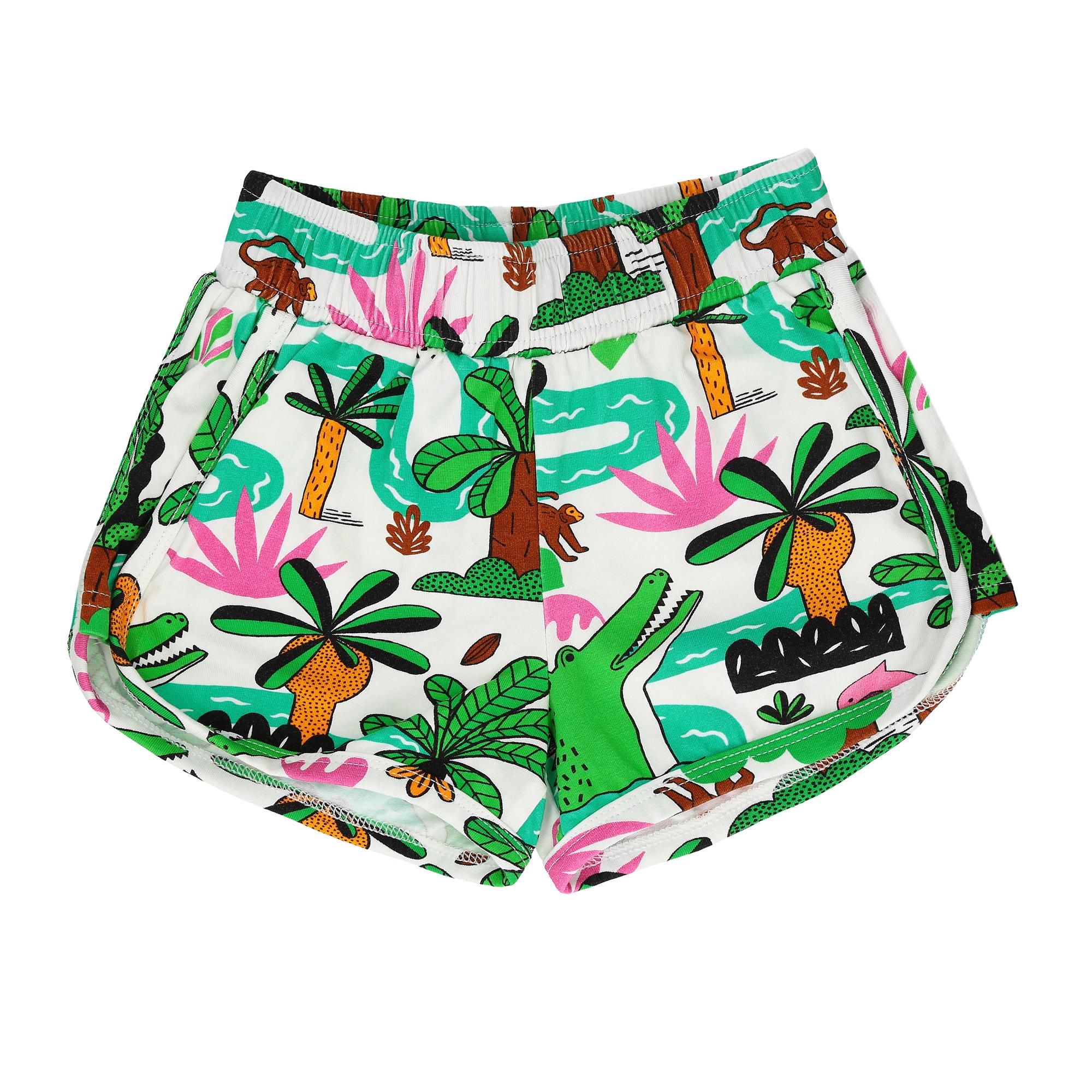 843fbe1744e54c Raspberry Republic Amazing Amazonia Shorts - Eddie & Min