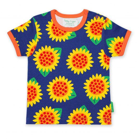046126fd64c56c Toby Tiger Sunflower Print SS T-Shirt